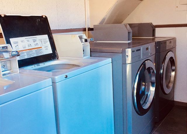 Coin Operated Laundry Room