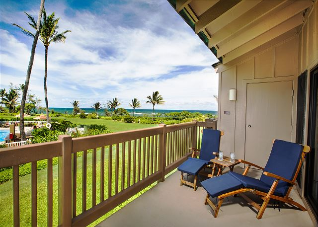 Enjoy Beautiful Sunrise Views from your Private Lanai