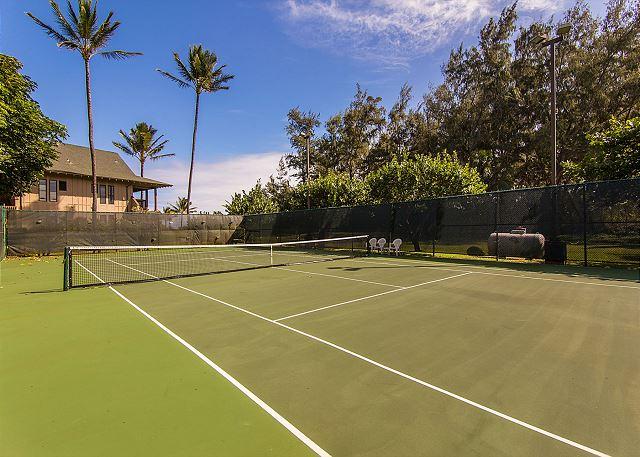 Kaha Lani Resort Tennis Courts