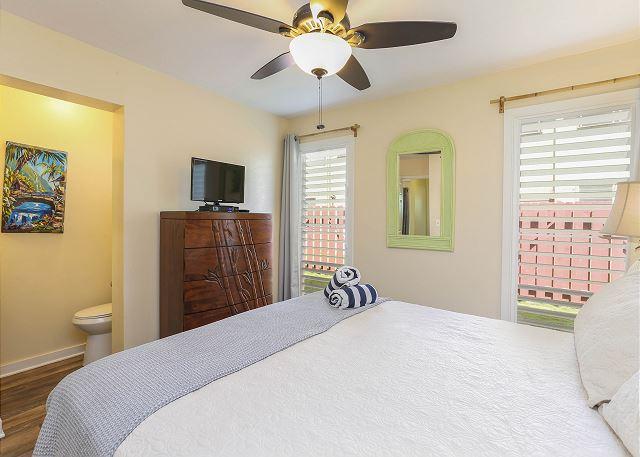 King Bedroom with Half Bath