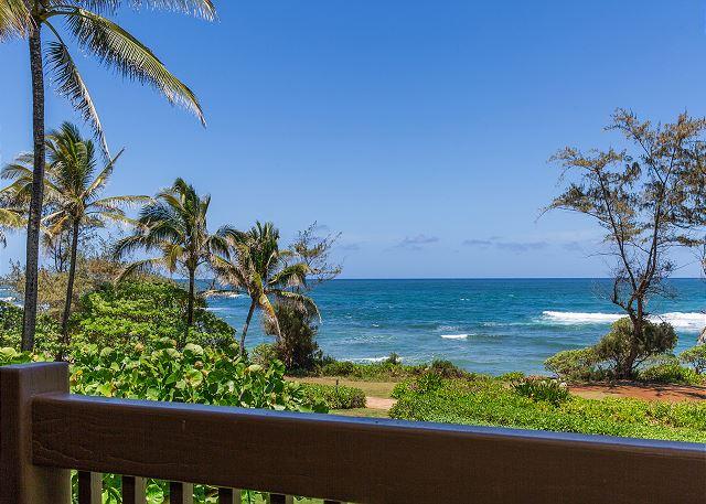 Private Oceanfront Lanai