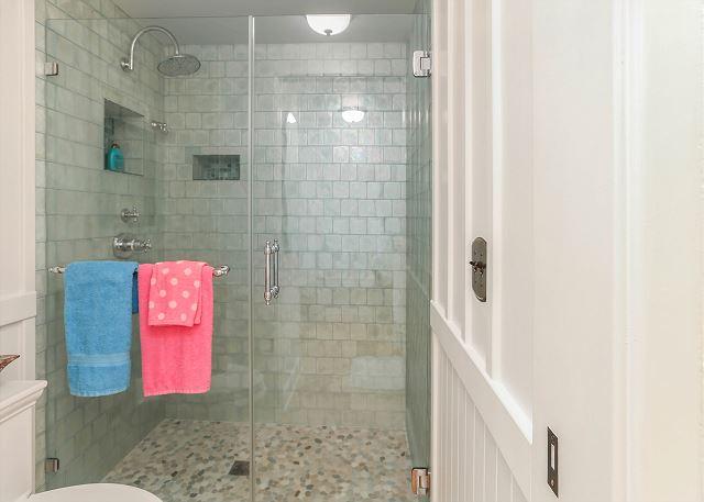 Downstairs Walk-In Shower