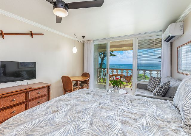 Enjoy Beautiful Oceanfront Views from this Newly Updated Unit