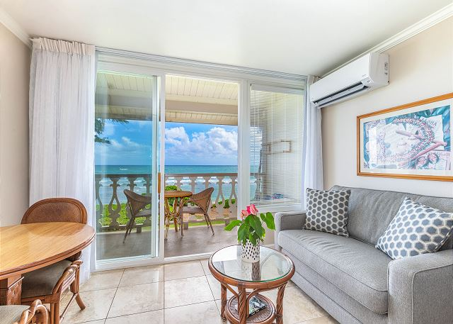Beautiful Oceanfront Views from this Updated Unit!