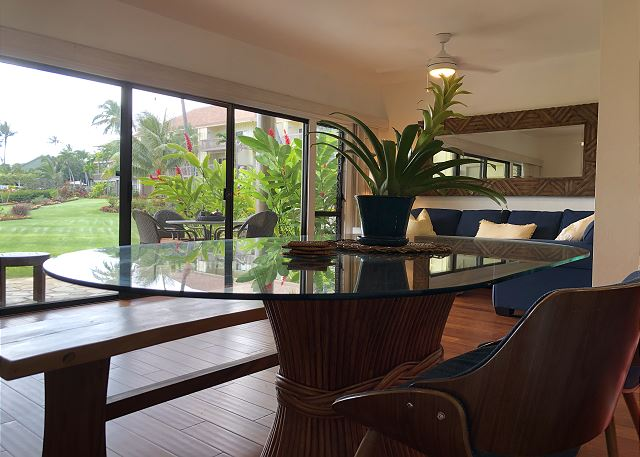 Dining Area, Ocean Views