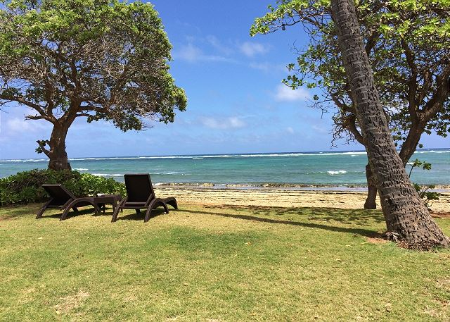 Kauai Kailani Beach Lounging