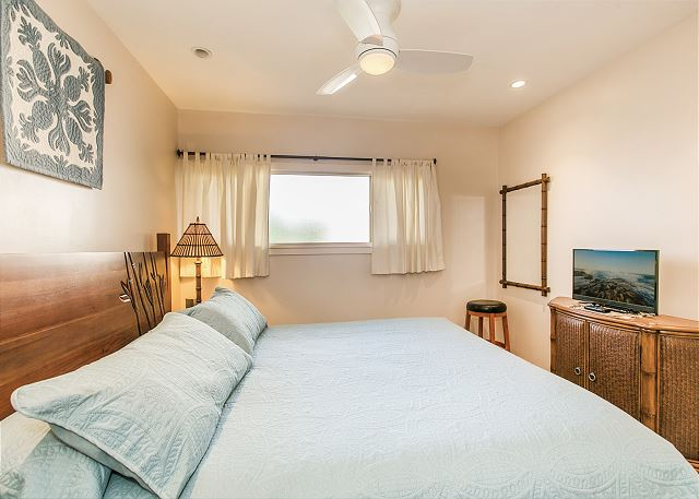Bedroom with Cal King Bed
