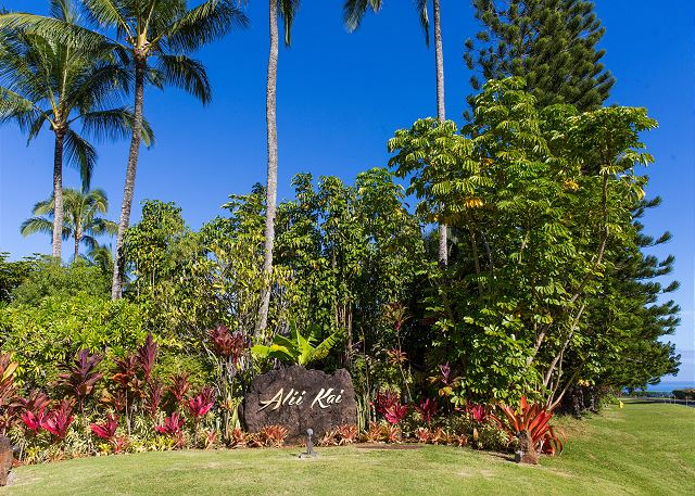 Entry to your Princeville condo