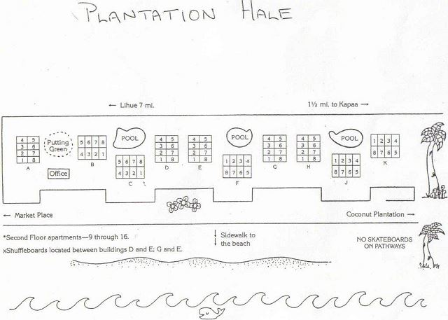 Plantation Hale Map