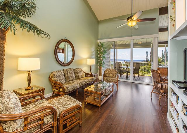 Ocean View Living Area