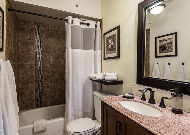 Bathroom #2 with tub/shower