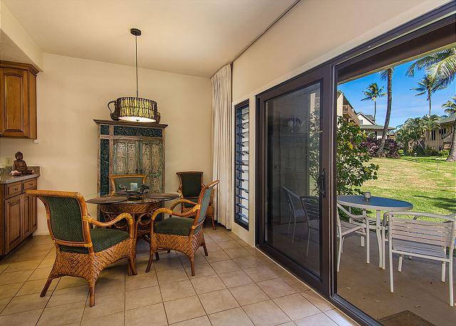 Dining & Private Outdoor Lanai