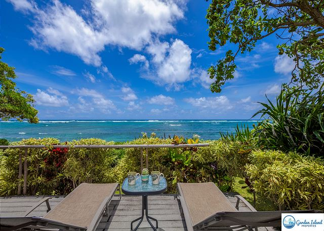Oceanfront Lanai from Master