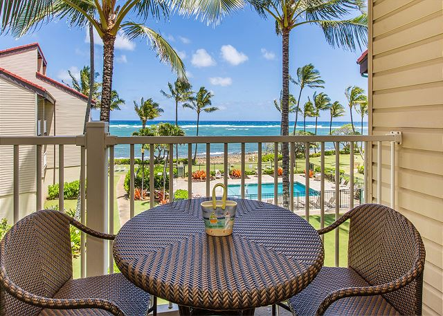 Ocean View from your Lanai