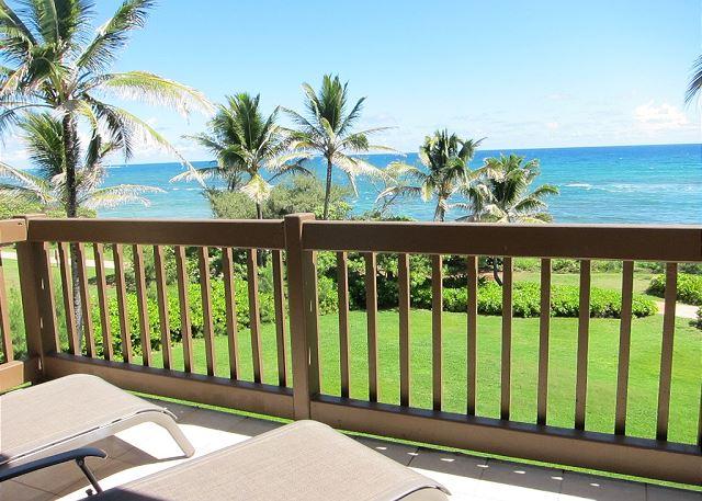 Oceanfront Lanai View