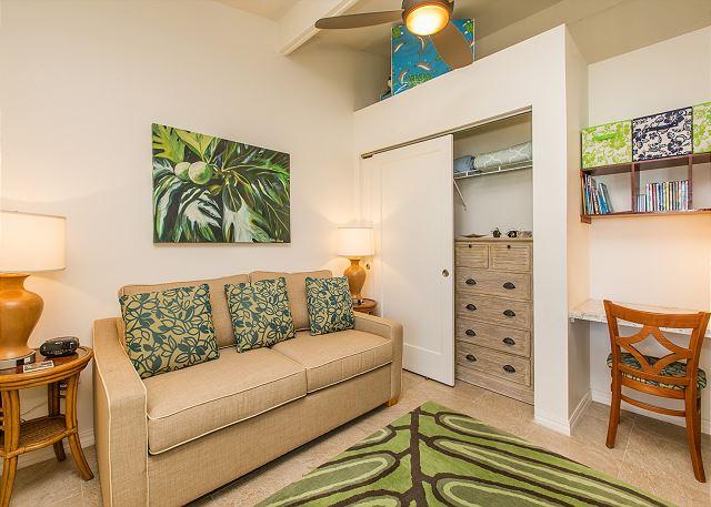2nd Bedroom/Den with Sofa Sleeper