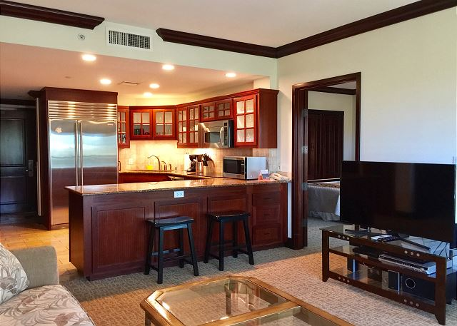 Gourmet kitchen for your indoor dining needs!