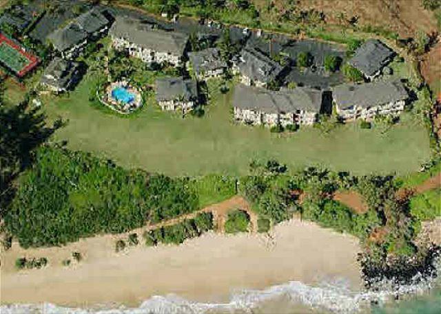 Aerial Shot of Kaha Lani Resort