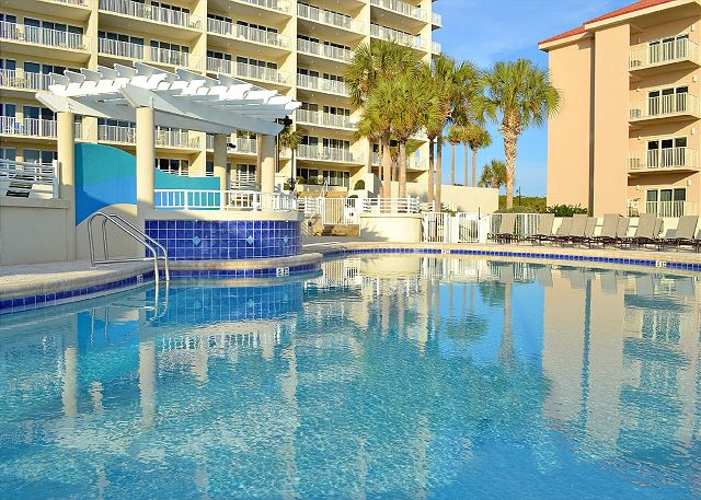 Tides 204/205 lockout - Tops'l Resort pool - Gibson Beach Rental