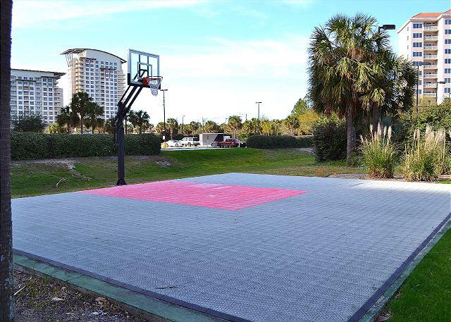 Beach Manor Basketball Court