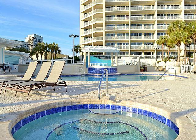 Tops'l Resort Pool and Hot Tub
