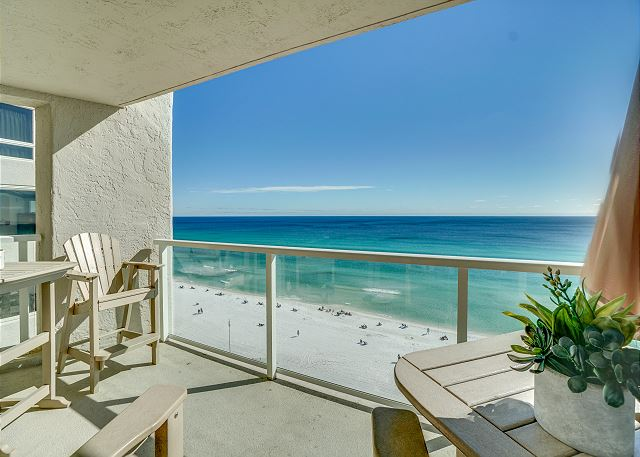 Beachside II 4313 Balcony
