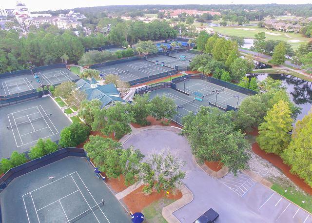 Sandestin Tennis courts