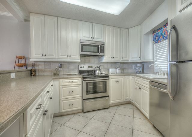 Beachside II 4271 Kitchen