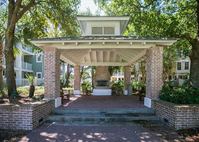 Market Street Inn 532 Garden Area