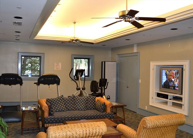 Beachside II Fitness Area