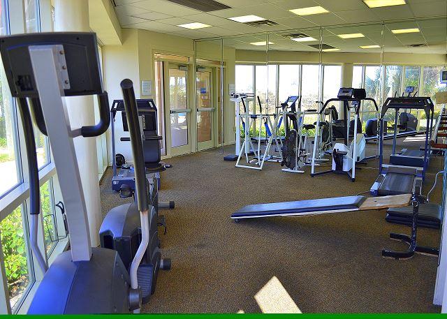 Beach Manor 209 Fitness Area
