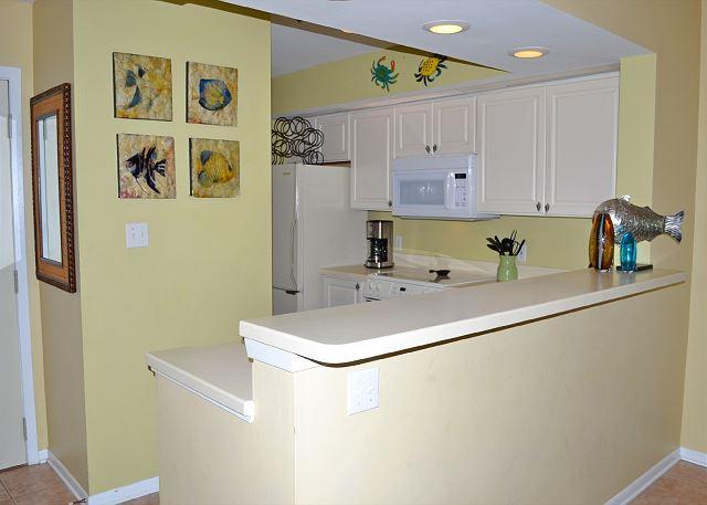 Beach Manor 209 Kitchen