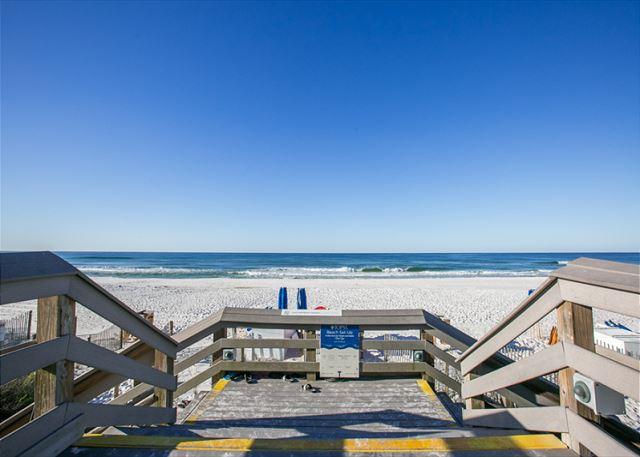 Tops'l Beach Entrance