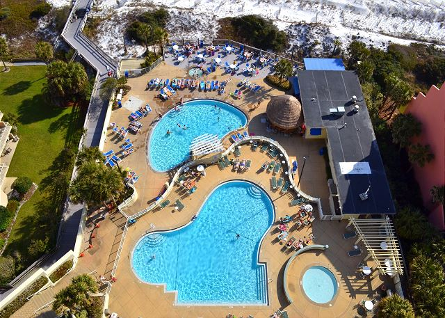 Upper and Lower Deck Pools