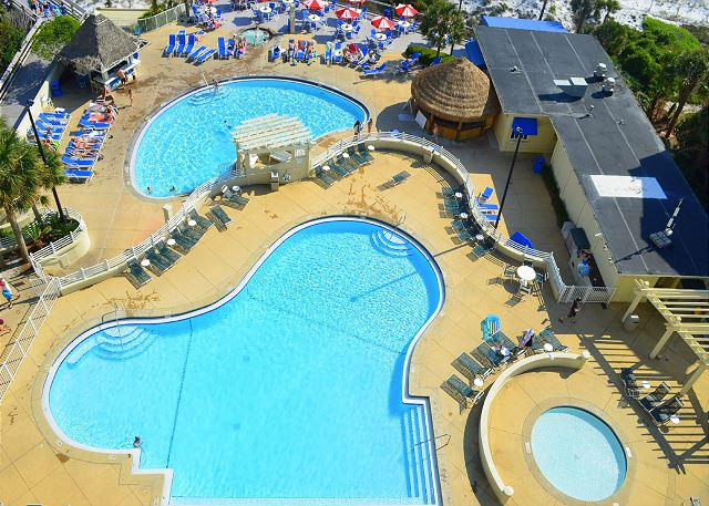 Tides Upper and Lower Deck Pools