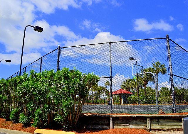 Beachside II Basketball Court