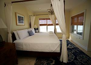 Spacious third level master suite