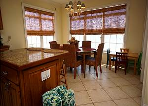 Dining area with gulf views!