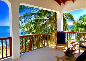 Belize#1: VeLento Oceanfront Rentals: 3 bed 3 bath Unit  #1