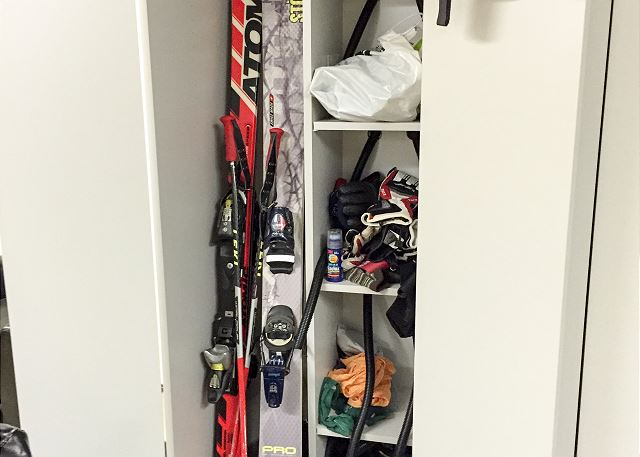Free ski storage Lockers in Lionshead