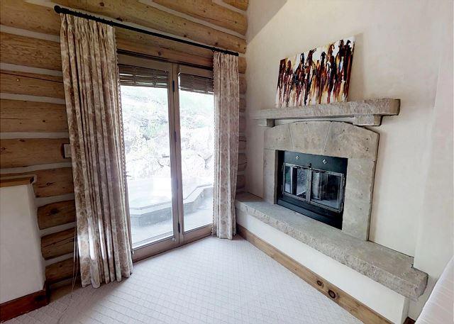 Bedroom with new mattress and en suite bathroom