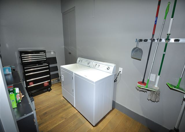 Large laundry Room off the Kitchen
