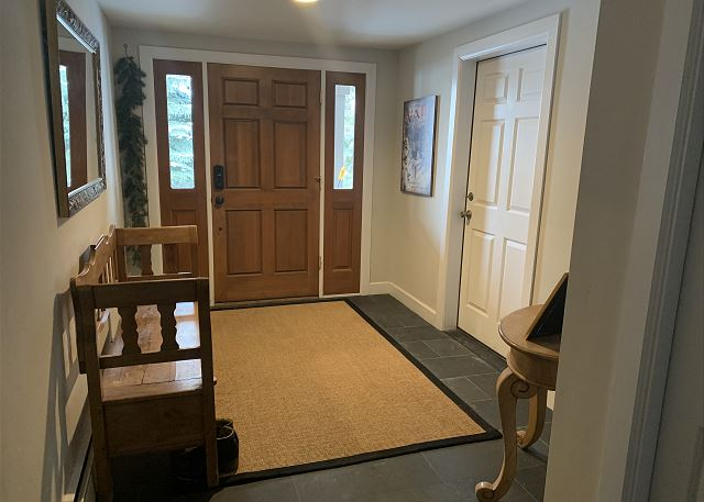 Welcoming Front Door Foyer