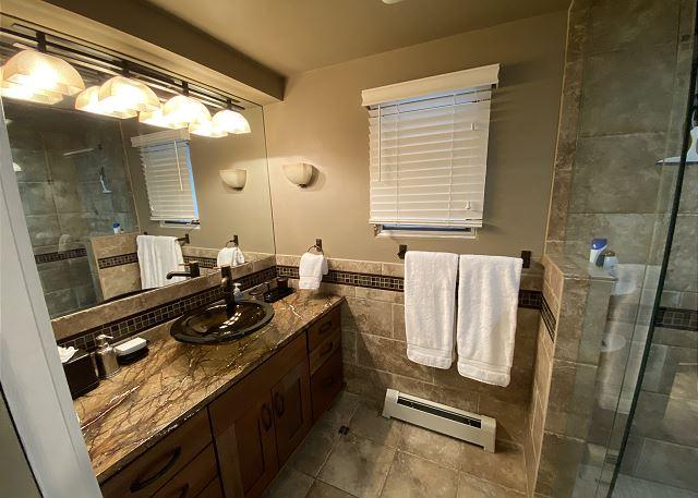 Hallway Bathroom.