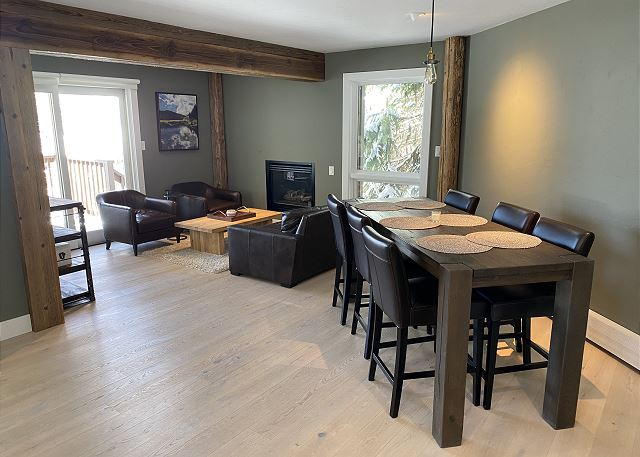 Lots of Dining Space for Friends and Family