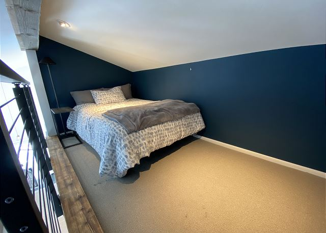 Full Bed in the Loft.