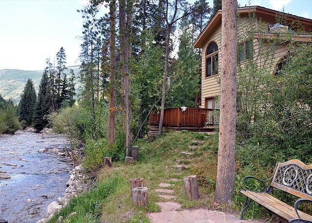 Summer views of Gore Creek