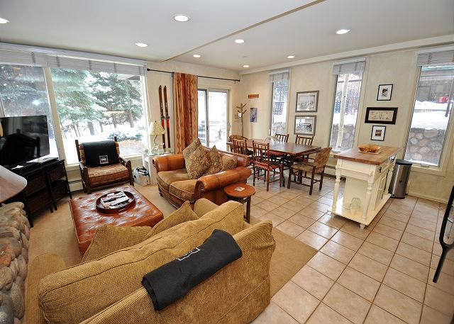Spacious living in the heart of Vail Village