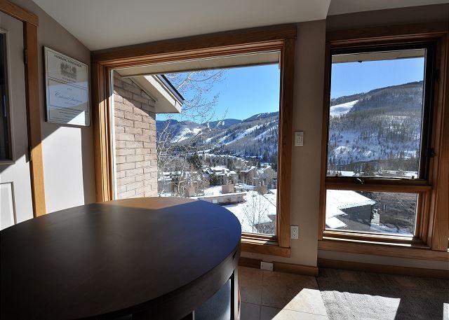 Vail ski slopes