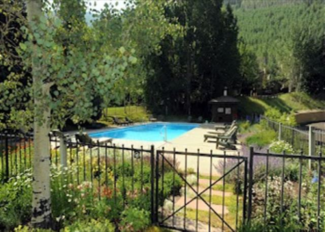 Community summer hot tub